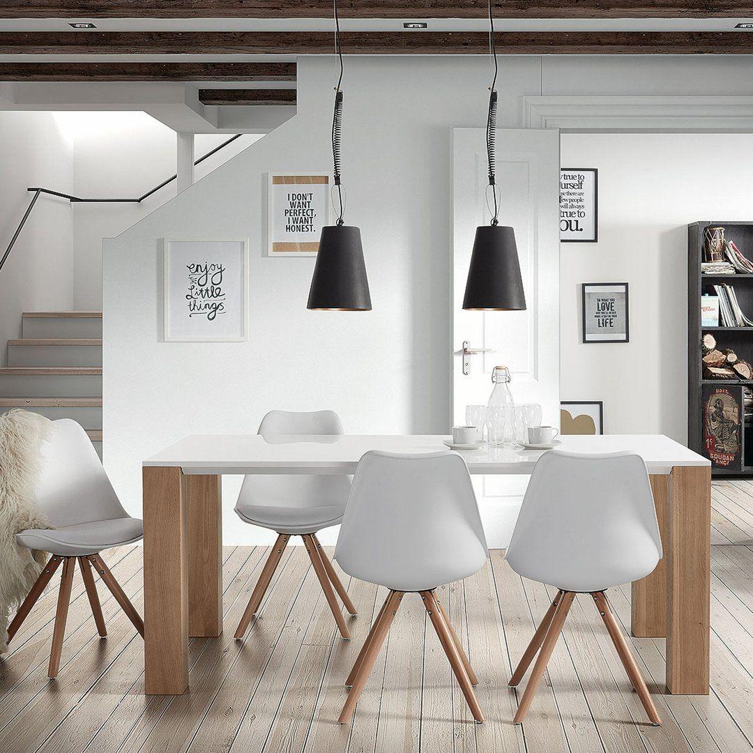 Mesa de comedor moderna zuni vintage estiloescandinavo for Decoracion moderna