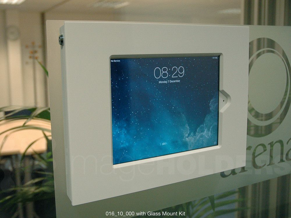 Slimline 10 Tablet Or Ipad Enclosure Wall Mount Tablet Samsung Galaxy Tablet Tablet Kiosk