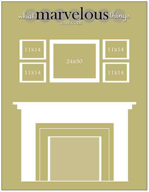 Wall Display Template 10-pack   Photo wall, Template and Display