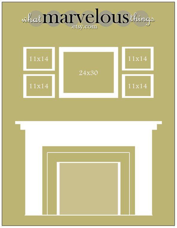 Photo Wall Display Template | Wall Displays | Pinterest | Photo wall ...