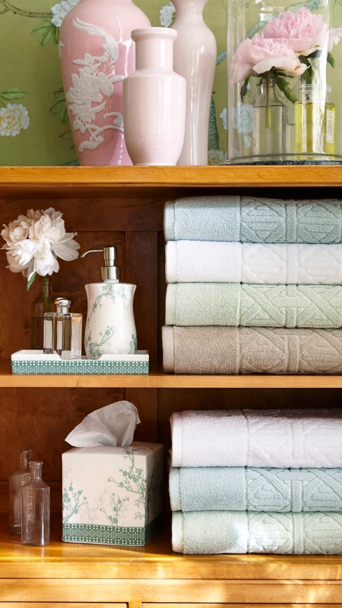 Paradiso Caning Bath Towels