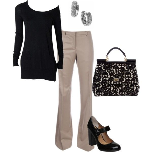"""my """"go to"""" friday work outfit. this should be a staple in any girl's closet"""