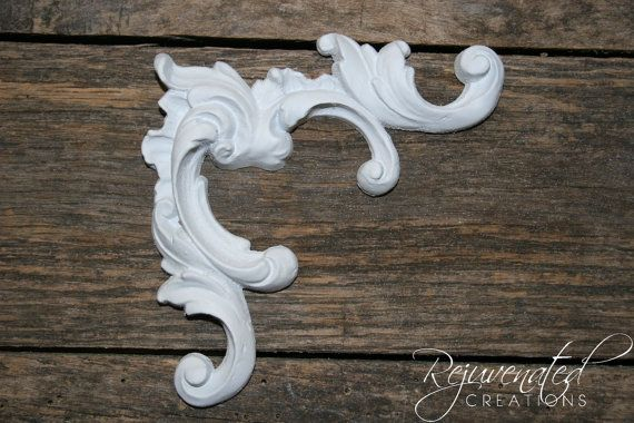 DIY Shabby Chic Appliques Furniture Appliques Architectural Appliques Onlays