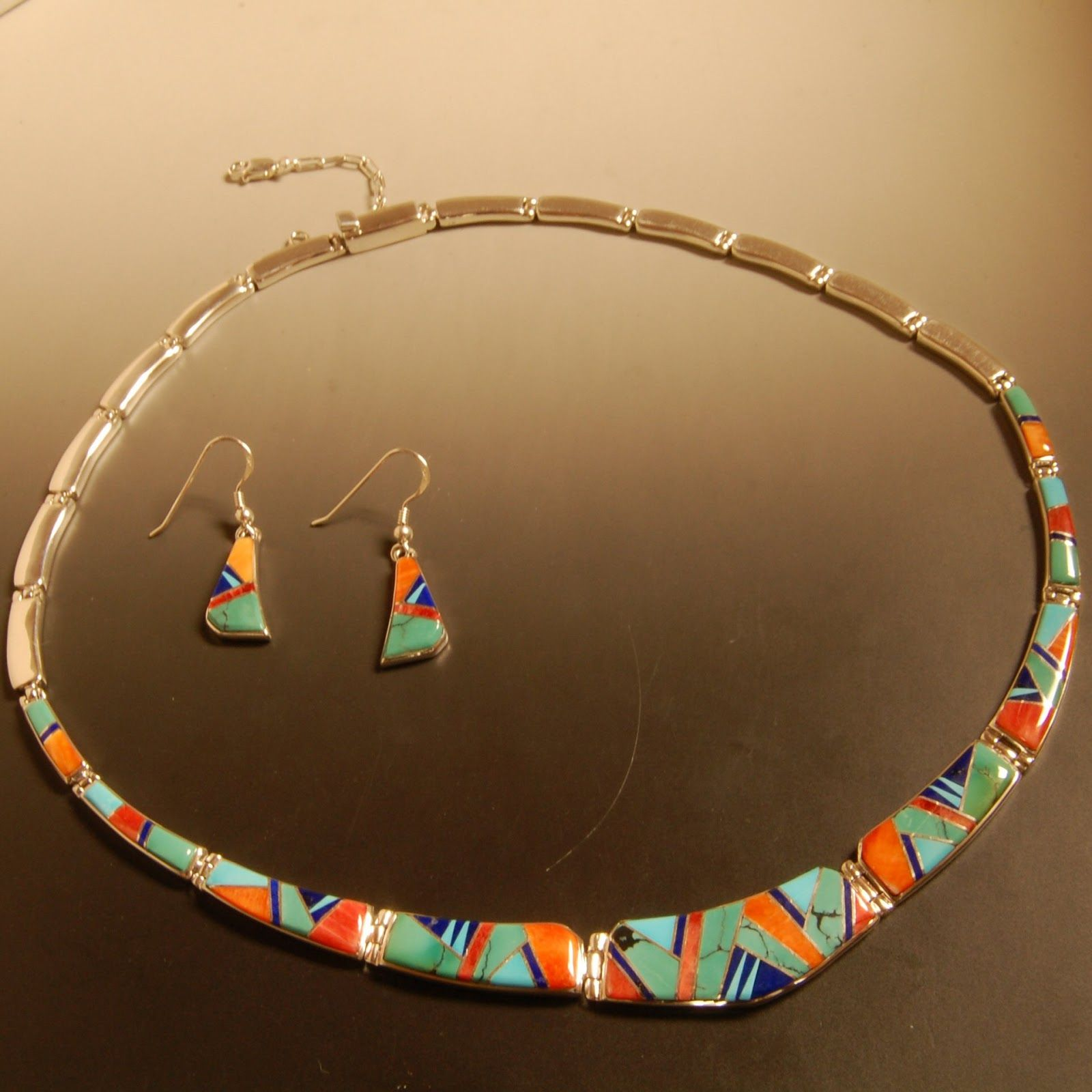 Calvin Begay Creates Handmade Native American Jewelry Lantern