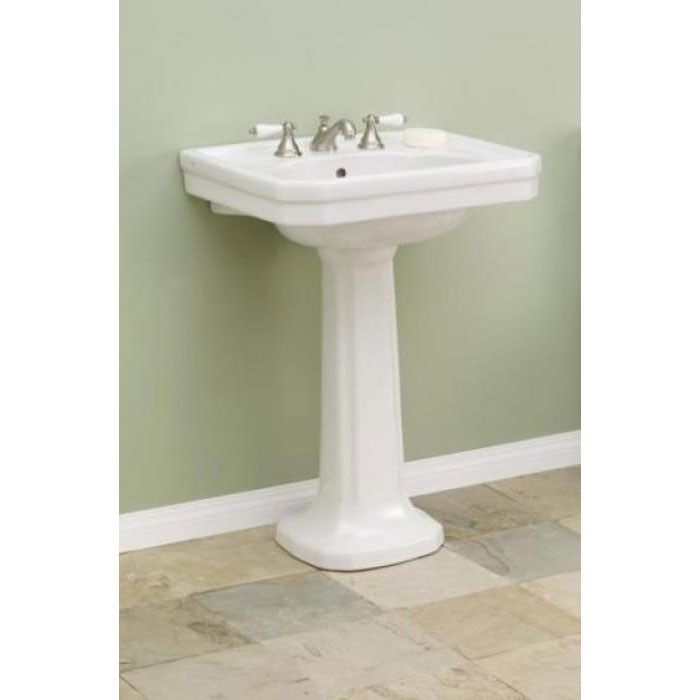 8 inch bathroom sink faucets. cheviot large mayfair pedestal sink lavatory - 8 inch faucet drillings sinks bathroom faucets