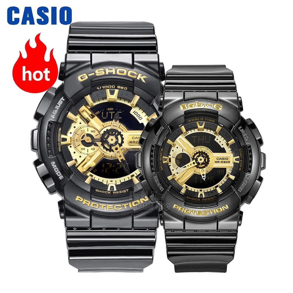Casio watch Couple watches men and women fashion sports