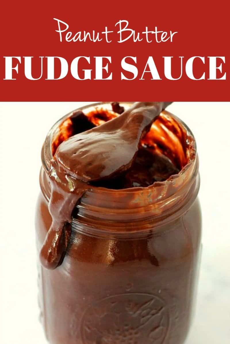 Peanut Butter Hot Fudge Sauce Recipe Quick And Easy Dessert Topping Perfect For Ice Cream Sundaes Cake In 2020 Chocolate Peanut Butter Fudge Fudge Sauce Hot Fudge