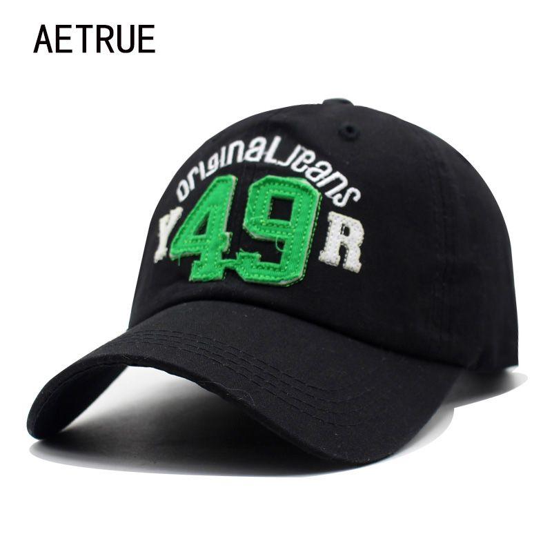 6ac36362a40 AETRUE New Baseball Cap Men Casquette Snapback Caps Women Brand Bone Hats  For Men Washed Sun