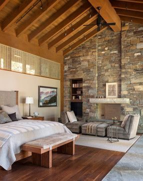 Bedrooms And More Seattle Decor wilderness retreat - rustic - bedroom - seattle - gregory