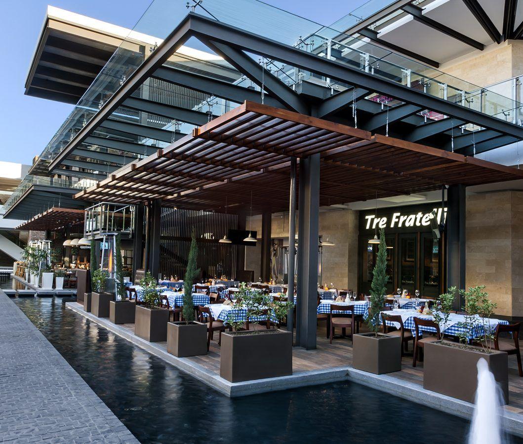 Trefratelli Majadas Darcon Restaurant Architecture Restaurant Exterior Design Restaurant Exterior