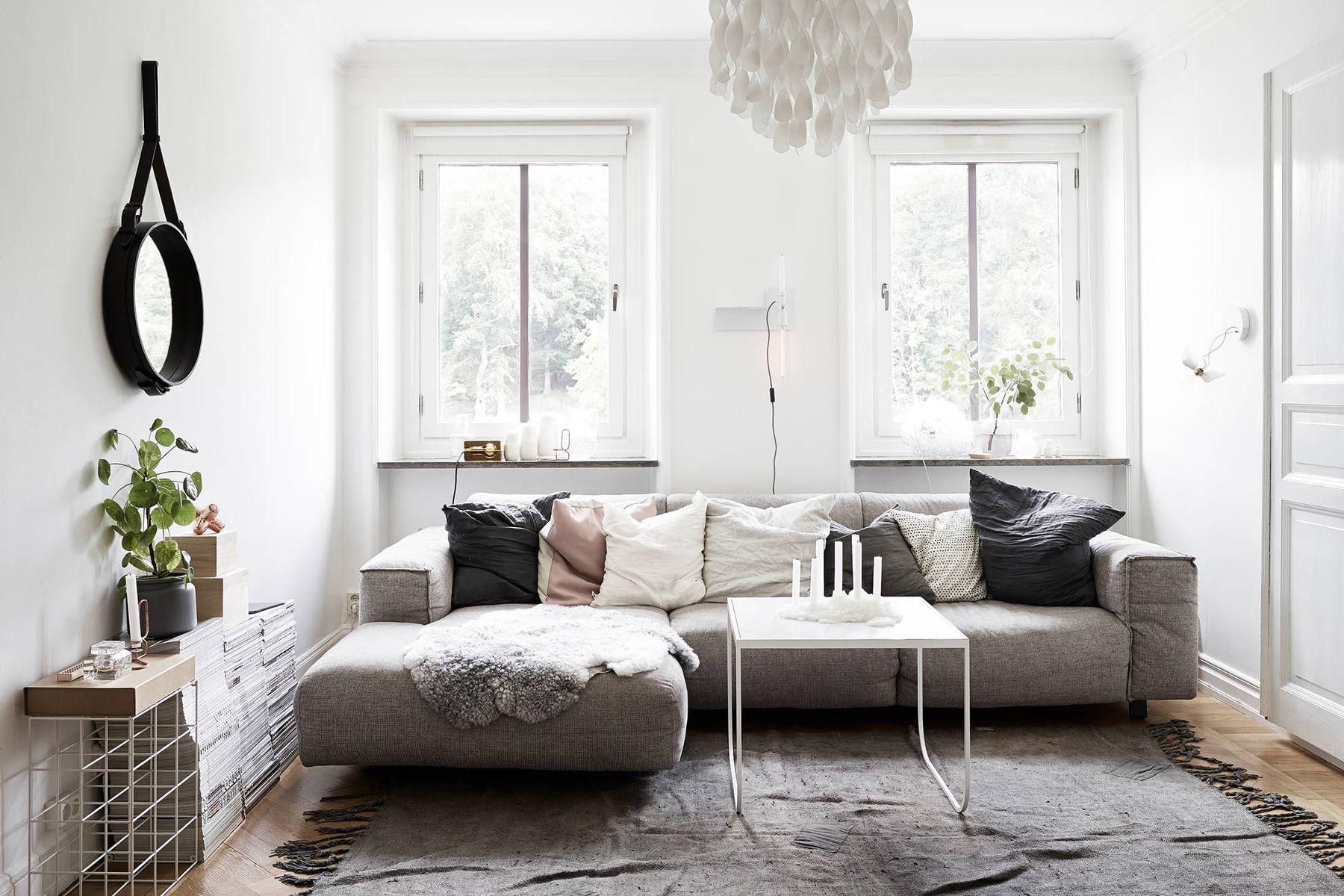 Scandinavian living room textiles - Top 10 tips for adding ...