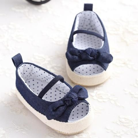 Mother & Kids Lovely Summer Princess Baby Girls Shoes Floral Bowknot Slip-on Crib Sneakers Soft Sole First Walkers Newborn Infant Toddler First Walkers