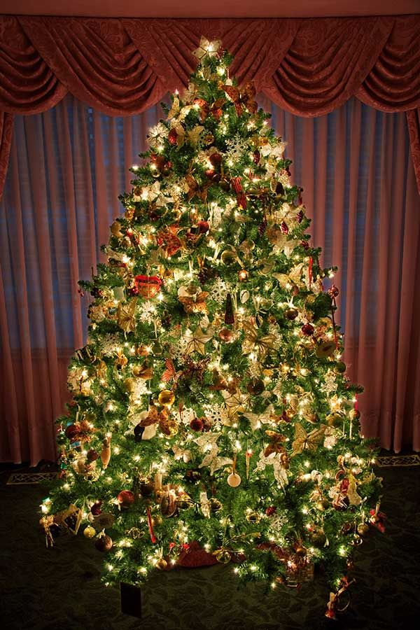 celebration diy decor all attachment decorated trees christmas decorations about tree