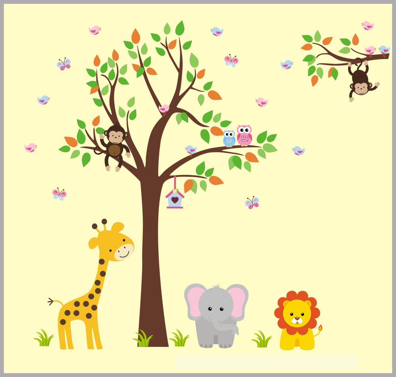 Nursery Wall Decals - Baby Girls Nursery - Baby Girls Decals ...