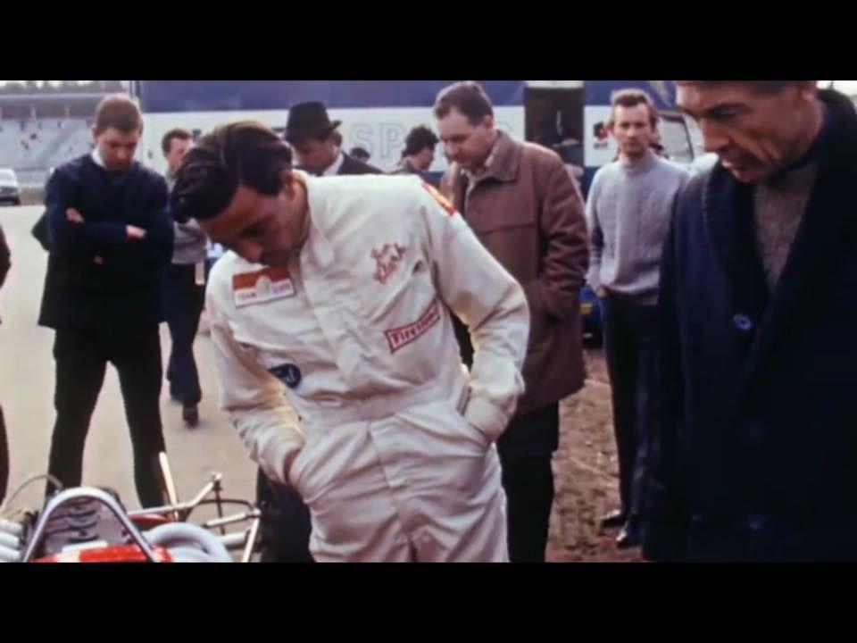 Jim Clark Hockenheim 7 April 1968 Voiture De Course Courses Voiture