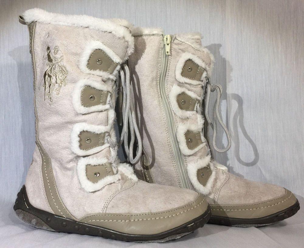 Snow Boots Faux Fur Ice