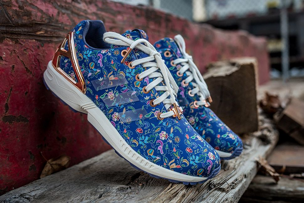 adidas zx flux limited edition rose gold