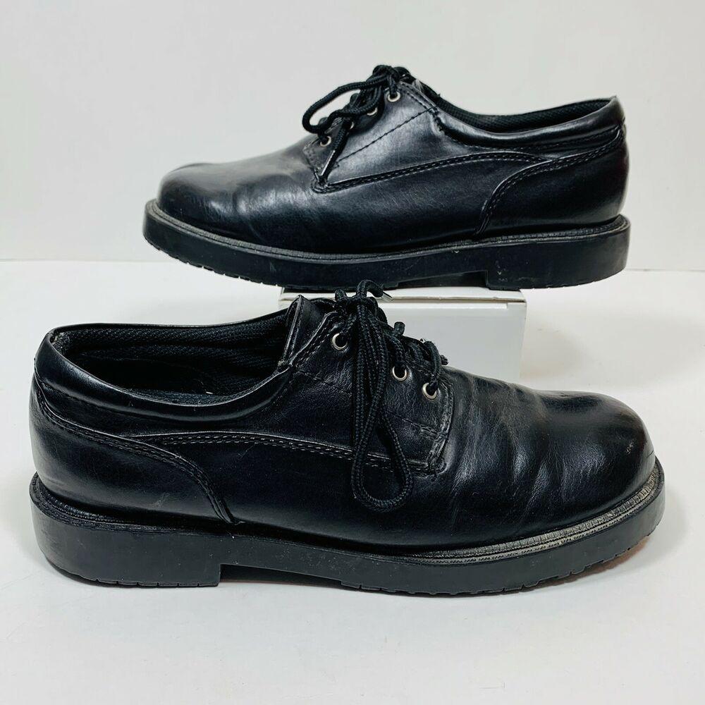 SafeTstep Mens Work Shoes Sz 7.5 W