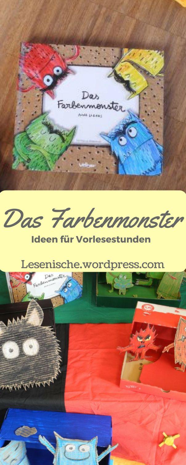 Das Farbenmonster - Vorleseideen.jpg   Schule   Pinterest ...