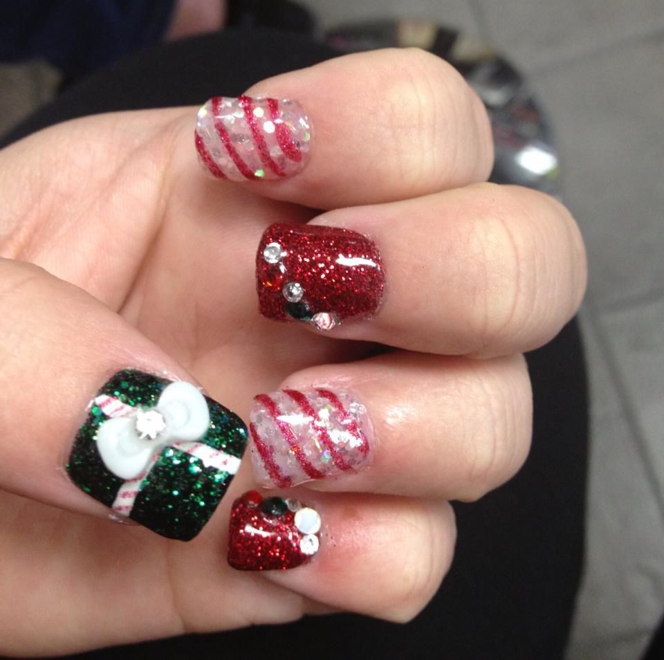 Christmas Nails Acrylic Long: You Are Browsing Posts Filled With Long Acrylic Nail