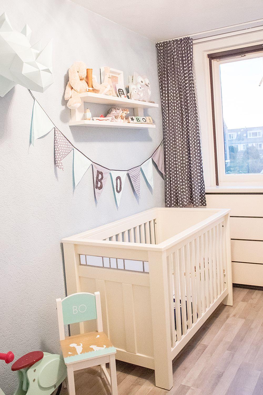 Goede Mintgroene kinderkamer- babykamer – kinderkamer - babykamer ZD-19
