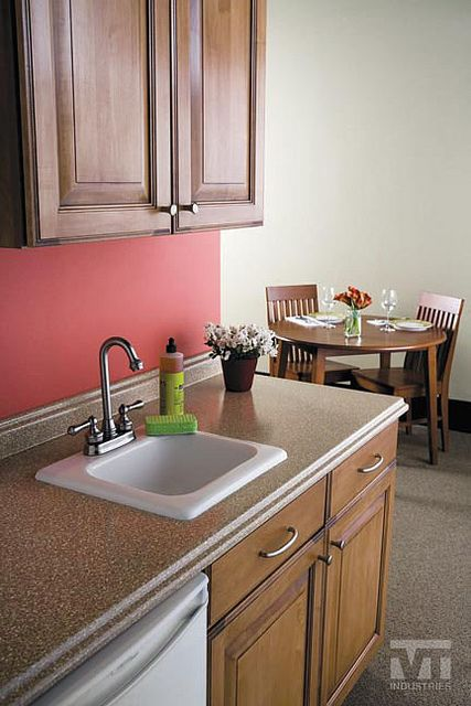 Sand Crystal Laminate Coordinates With Colors Of Our Tile Formica Countertops Kitchen Design