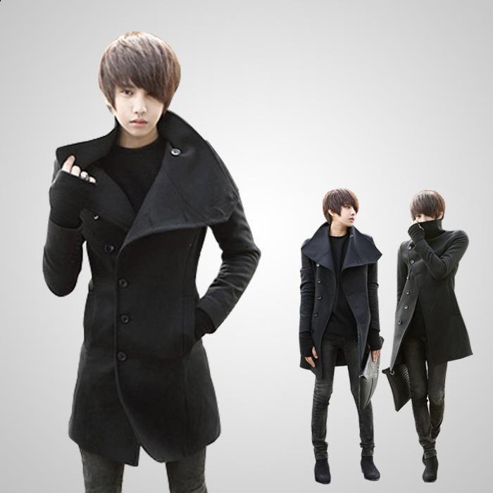 Taobao korean men, fall and winter clothes new men's coat ...