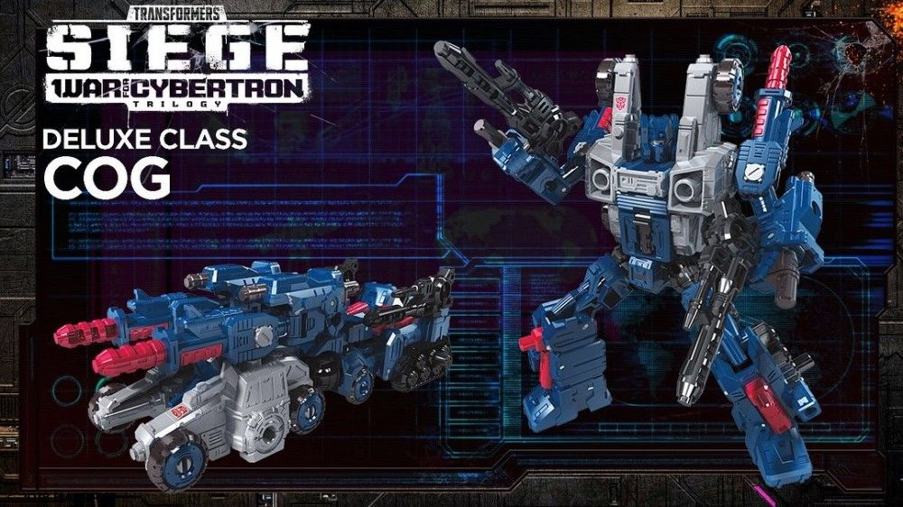 Transformers Generations Siege War for Cybertron Deluxe Class Cog Figure