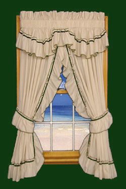 A Customer Favorite Our Jenny Country Ruffled Priscilla Curtains