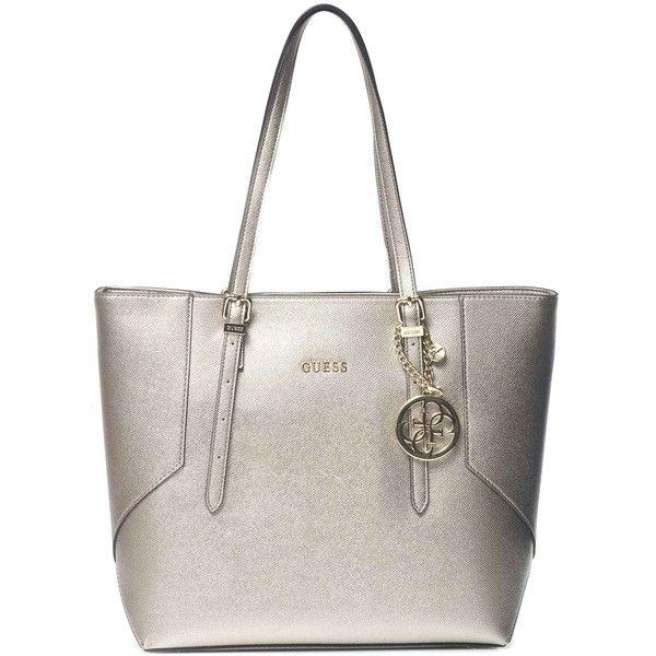 Bevásárlótáska · Guess Large shopping bag (€122) ❤ liked on Polyvore  featuring bags c8c8e7dc8f