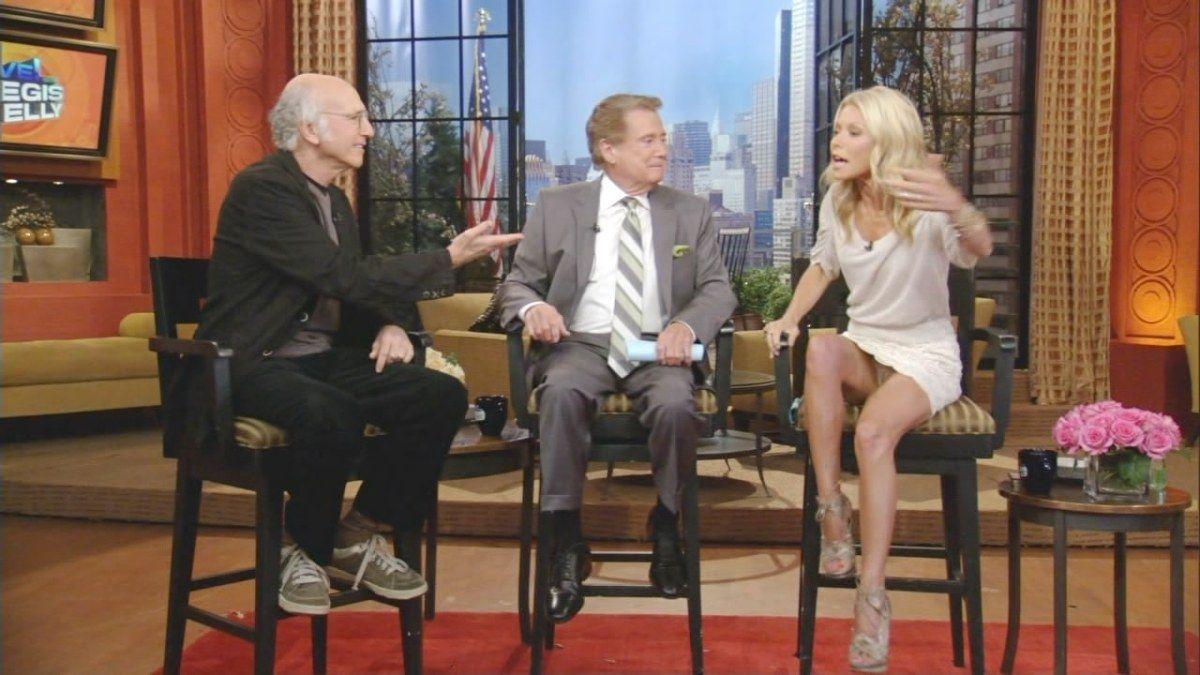 Think, Talk show host upskirt