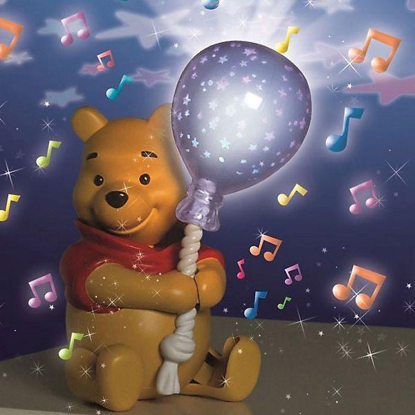 Winnie Puuh Nachtlicht Kinder Sternenhimmel Baby Lampe ...