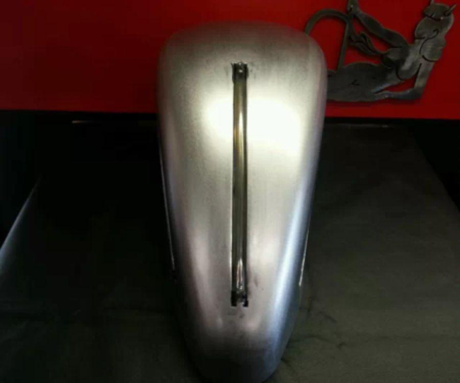 Handmade Recessed Gas Tank Fuel Sight Gauge Harley Chopperbobber