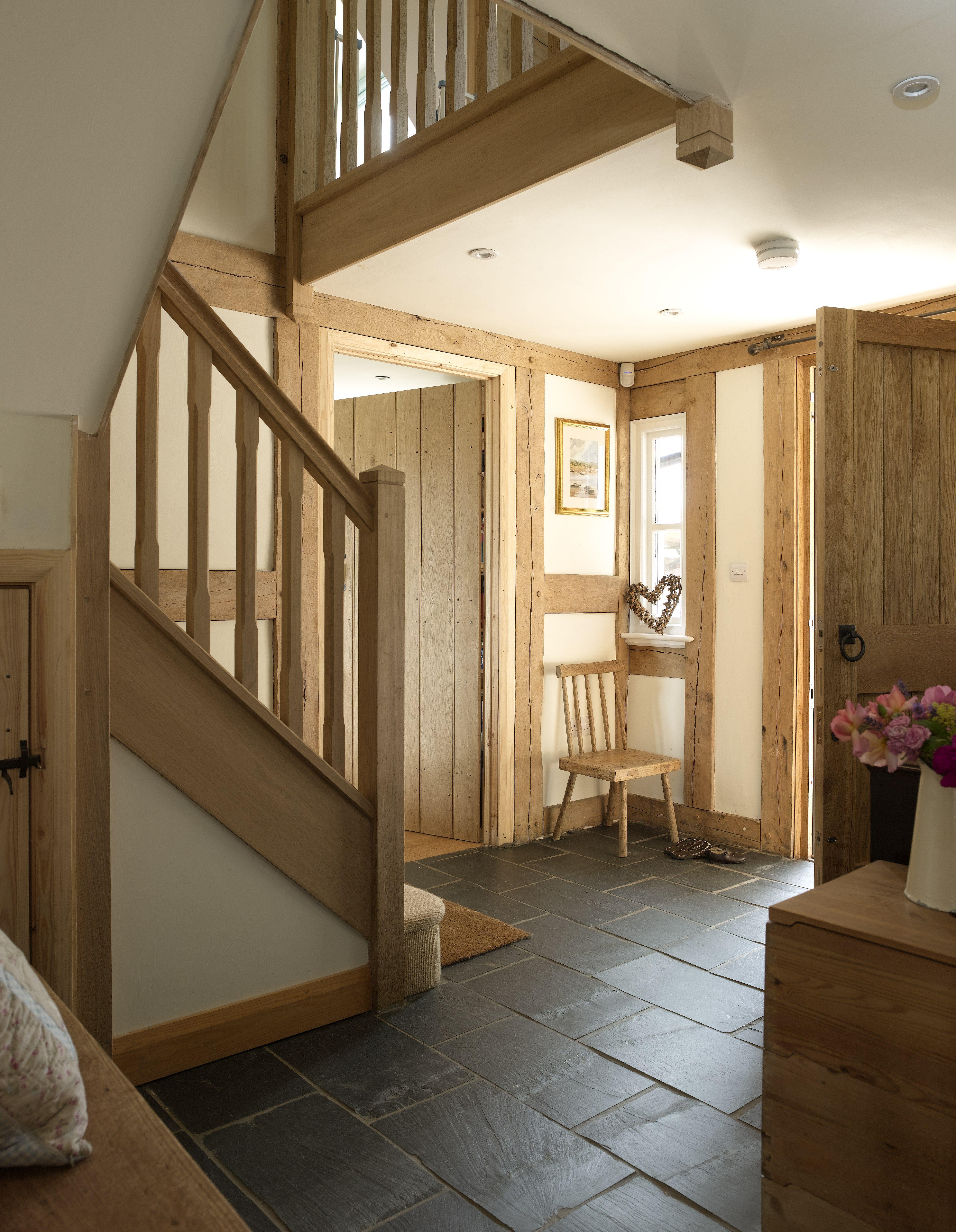Best Entrance Hallway Large Oak Front Door And Oak Staircase 640 x 480