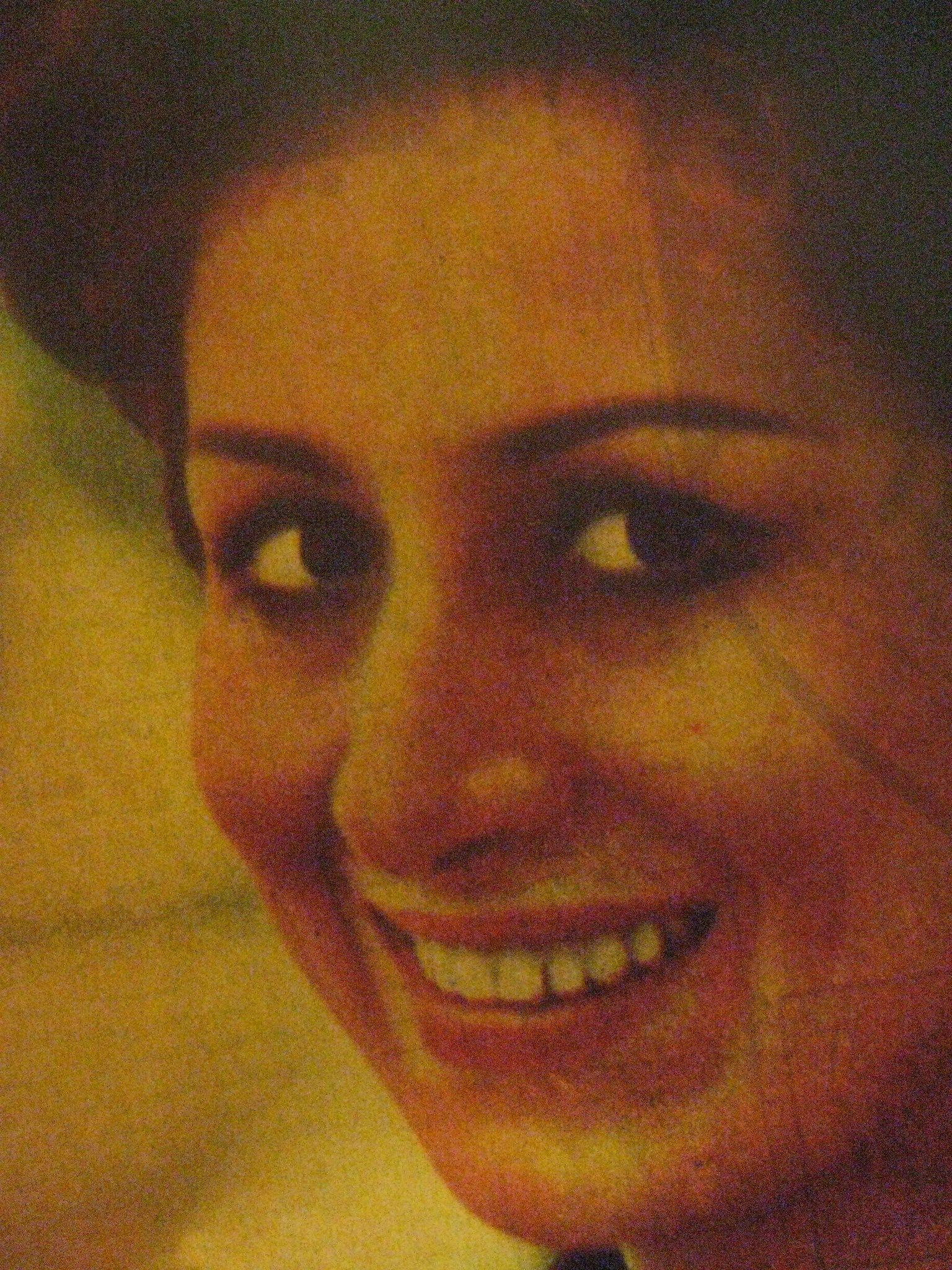 الفنانة الممثلة المصرية الجميلة فاتن انور Mona Lisa Artwork Painting