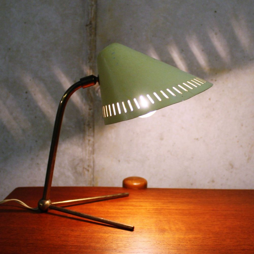 For sale: Mid century modern table lamp by Hans Bergstöm for