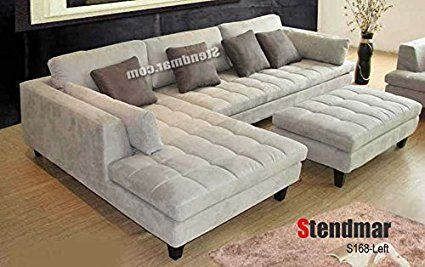 Living Room Furniture Sets Sectional Sofa With Chaise Grey