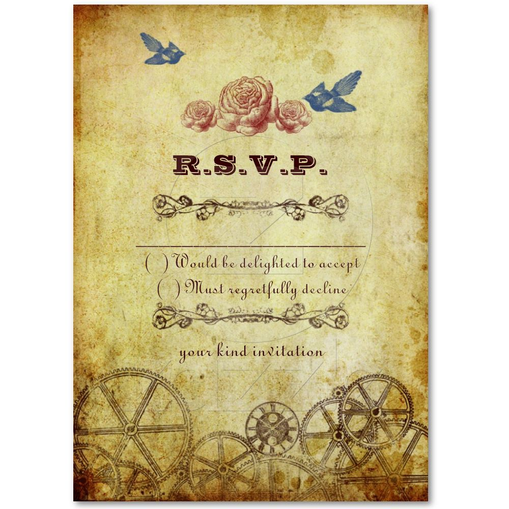 Faux Antique Gold Victorian Steampunk Wedding Business Card ...