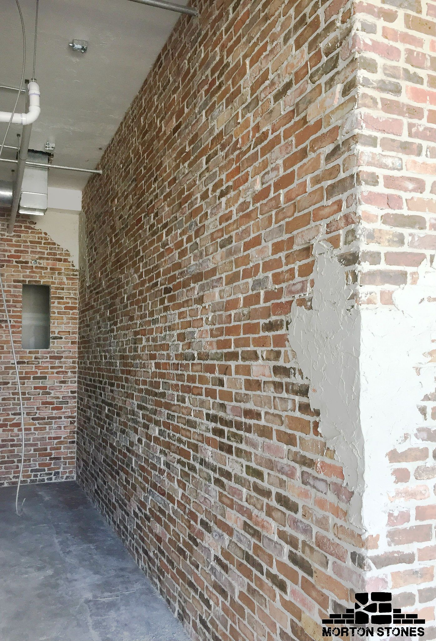 Brick Veneer Wall Is A Trendy Interior