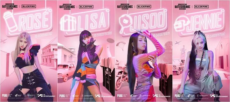 Blackpink PUBG Mobile ID: Jennie, Jisoo, Rose, and Lisa's ID numbers revealed as part of collaboration