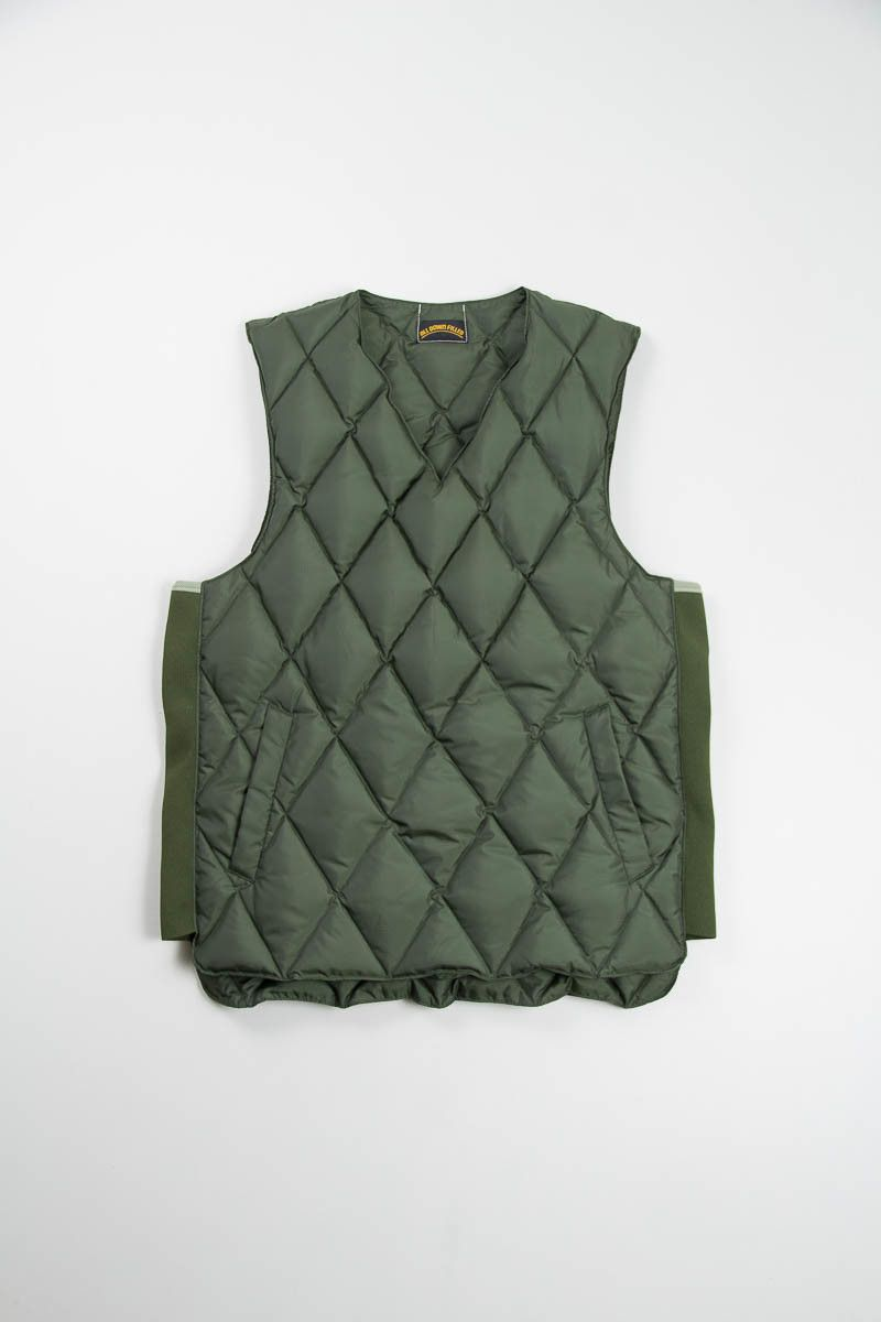 best loved 8afc0 d96db Olive Comfy Down Pullover Vest by Comfy – All Down Filled ...