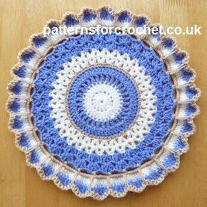 Pin By Anuradha Chatterjee On Mandalas 2 Crochet Doilies