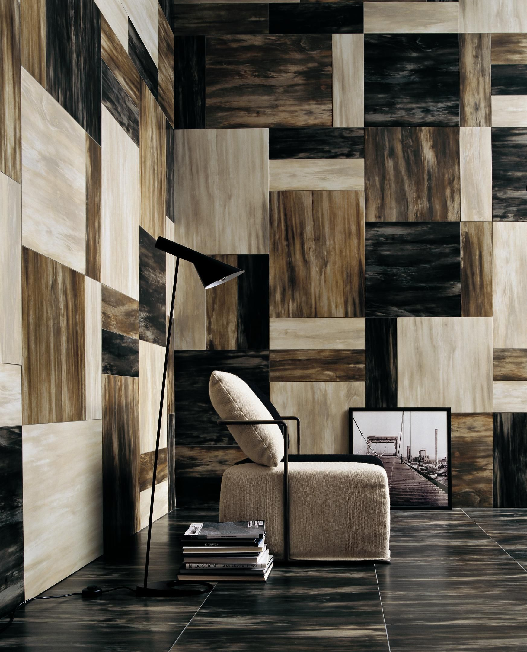 Exterior Wall Tiles Designs Indian Houses Single Floor: Horn Porcelain Tile , Maybe I Could Try This For My