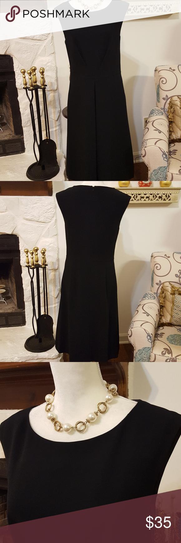Talbots Black Dress Size 8 Talbots Dress Black Dress Talbots [ 1740 x 580 Pixel ]