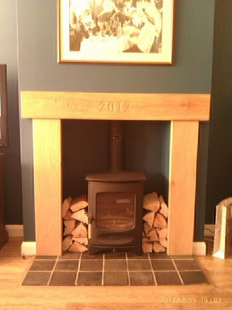 Fire Surround This Would Be Cute With Est 2005 Etc