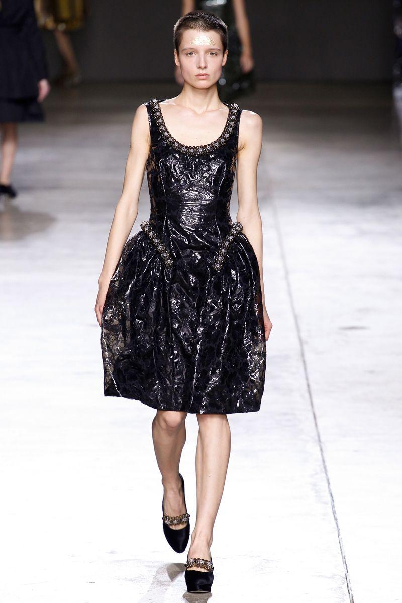 Still love that hair! #SimoneRocha #Fall2014 #FashionWeek