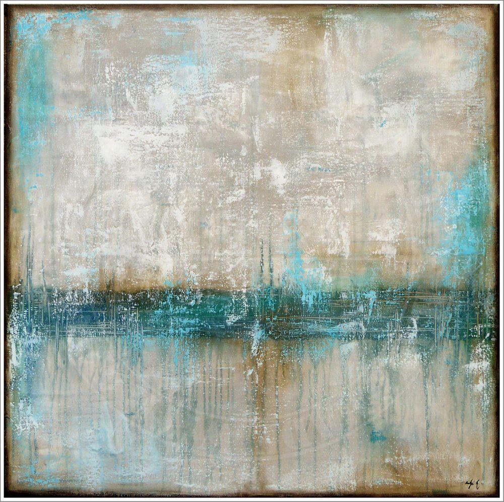 antje hettner bild original kunst gemalde leinwand malerei abstrakt xxl acryl abstrakte glasbilder malen