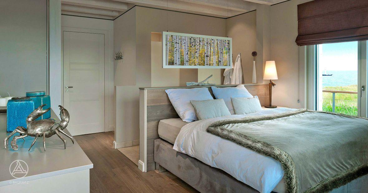 Master-Bedroom Mit Ankleide Und Bad