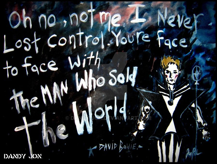 David Bowie: The Man Who Sold the World by Dandy-Jon on DeviantArt