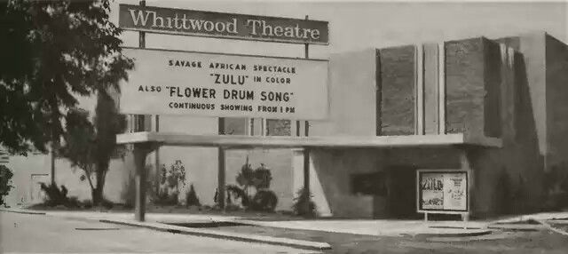 Whittwood Theatre At The Whittwood Mall Next Door Was The Local
